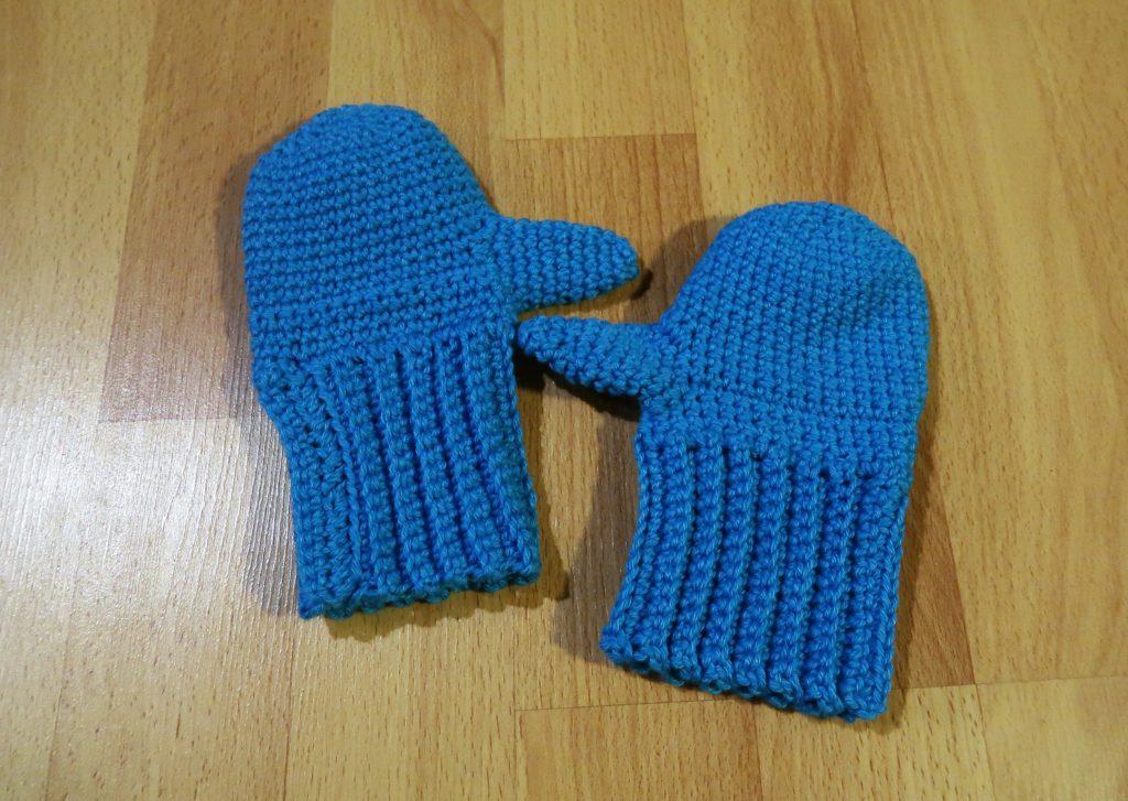 Häkelanleitung für Handschuhe (2-3 Jahre) - MissKnitness