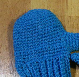 Handschuh-Handfläche