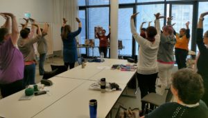 Yoga für StrickerInnen