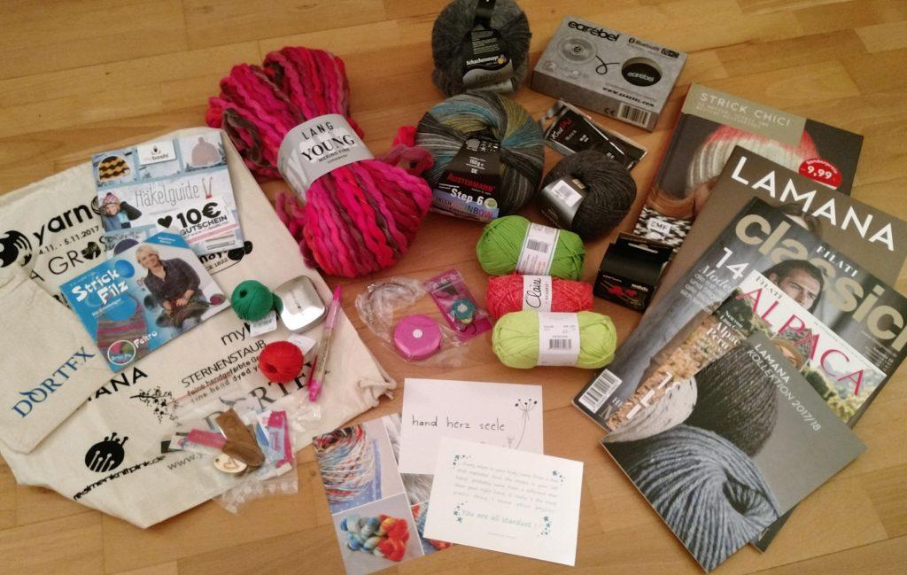 Yarn Camp 2017 - der erste Tag - MissKnitness